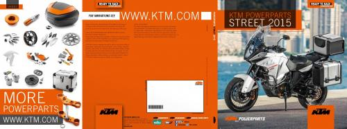 Screenshot for Catalog KTM Powerparts Street 2015