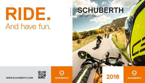 Screenshot for Schuberth Helmet line 2016
